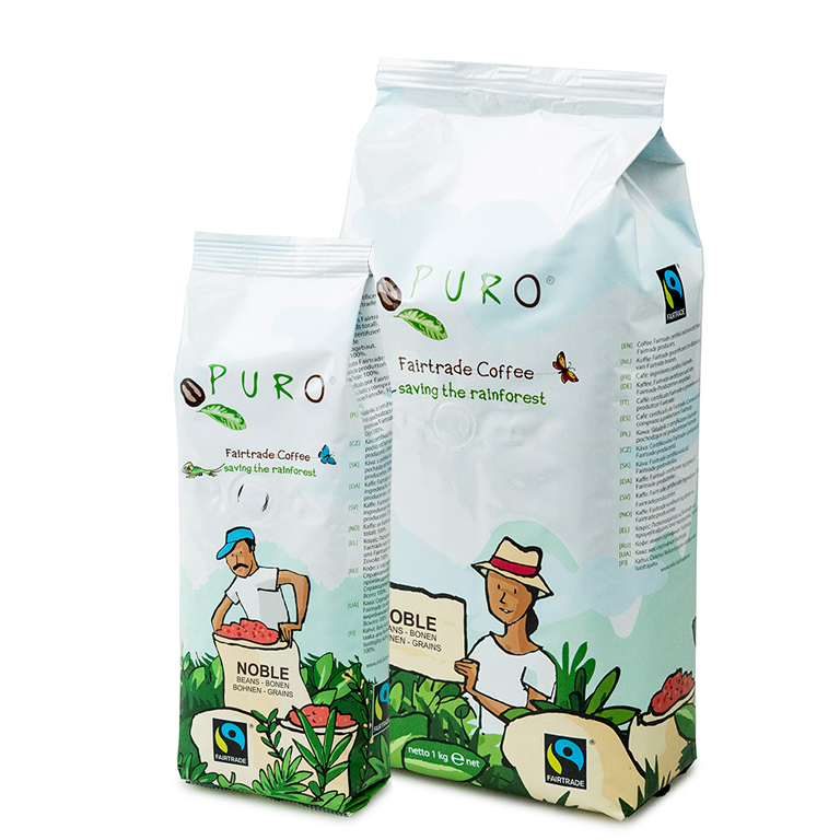 Puro Fairtrade Organic Beans